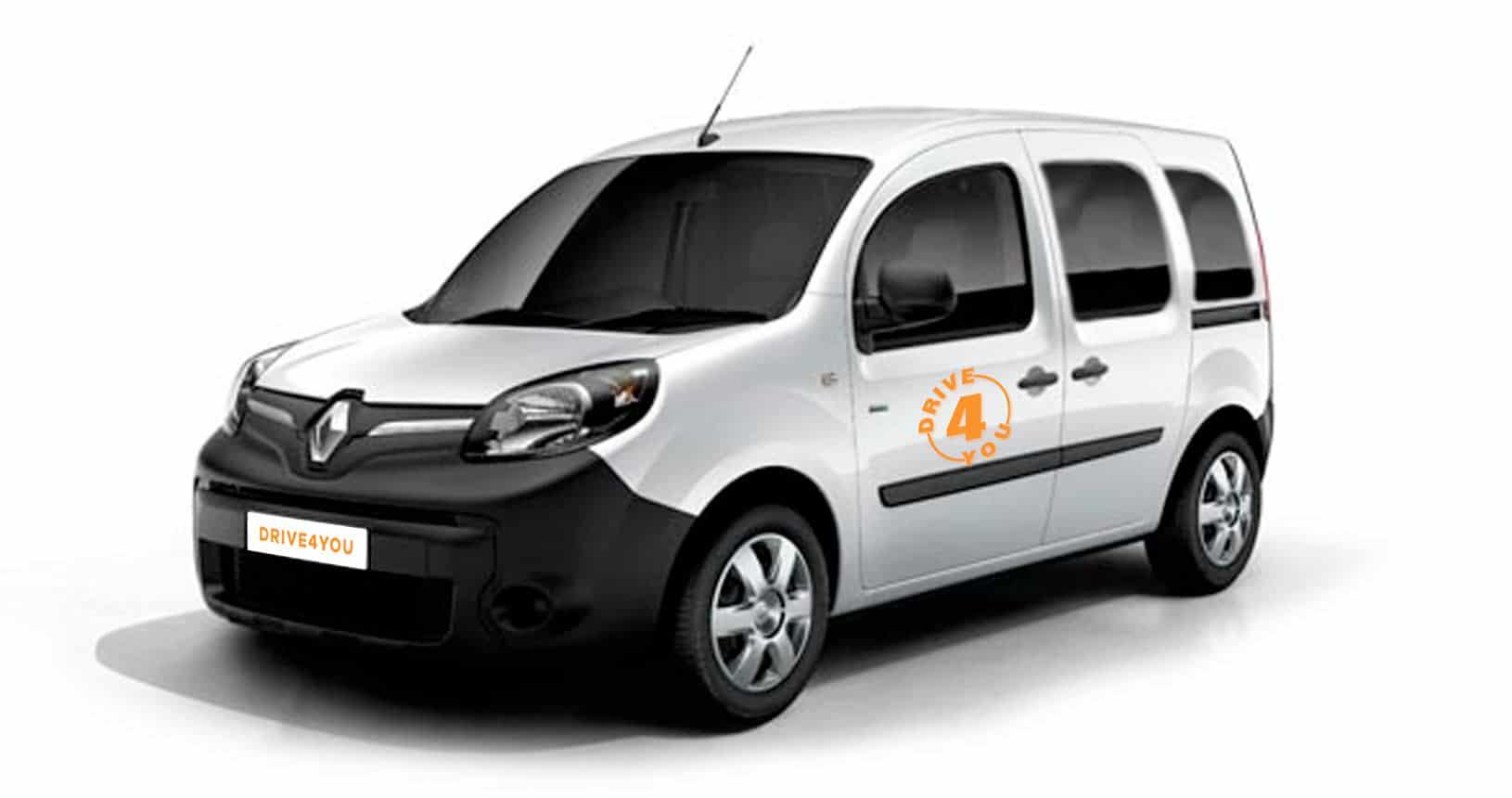 Kangoo transport adapté drive4you